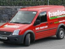Hanlon Concrete Van Livery