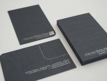 Steven Bourke Jewellers Business Cards