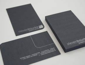 Steven Bourke Jewellers Business Cards