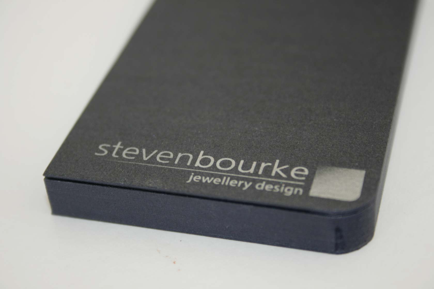 Steven Bourke Jewellers Business Cards - Two Heads Website & Graphic ...