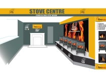 Stove Display interior design