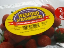 Slaney Farms Wexford Strawberries Label