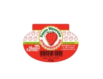 Slaney Farms Strawberry Packaging Label