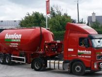 Hanlon Concrete Mobile Mixer Livery