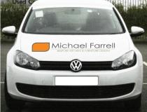 Michael Farrell Golf Van Livery