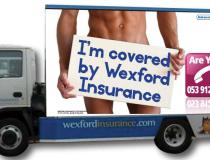 Wexford Insurances Mobile Advertising Vehicle Signage