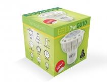 GU10 Lightbulb Box Packaging Design