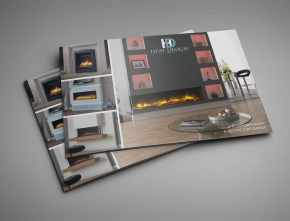 Heat Design A4 Horizontal Brochure