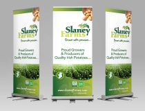 Pullup & Rollup Banner Designers – Slaney Farms