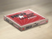 Pizza Box Designs – Red Square Pizza