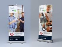 Standard Width Pullup Display Banners – Taste 4 Success Skillnet