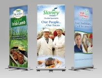Pullup & Rollup Display Signage Banners – Slaney Meats