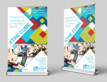 Super Wide Pullup & Roll-up Banner Designers – The Cube